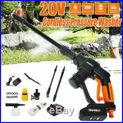 20V Max Portable sans fil Nettoyeur à Haute Pression Voiture Rondelle Pistolet