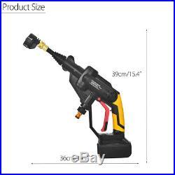 21V Portable Li-ion Batterie Haute Pression Pistolet Nettoyeur Lavage Voiture