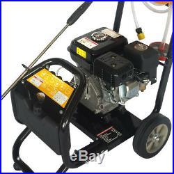 7,5CV Nettoyeur essence moteur haute pression LAVEUSE À PRESSION 170bar 2465PSI