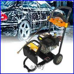 7,5HP Nettoyeur Haute Pression à Essence Moteur OHV 3600RPM Démarrage manuel