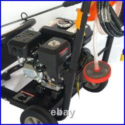 7,5HP Nettoyeur Haute Pression à Essence Moteur OHV 3600RPM Démarrage manuel DHL