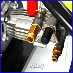 7,5 CV LAVEUSE À PRESSION Essence Nettoyeur Haute Pression Jet 2465PSI 170bar DE