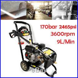 9 L/min 7,5 PS Essence Nettoyeur Haute Pression 2465PSI 170bar OHV-Motor DHL