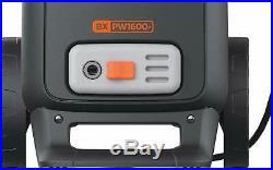 Black + Decker BXPW1600E Nettoyeur Haute Pression de Pression, Jaune et Noir