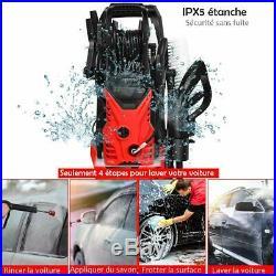 COSTWAY Nettoyeur Haute Pression 1400W 140Bar 300L/H avec avec 1 Buse Lotus