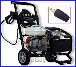 Detec. Essence Nettoyeurs Haute Pression 220 BAR 7 Ps Tuyau Buse Rotative