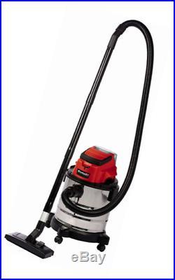 Einhell Aspirateur eau et poussière TC Batterie de VC 18/20 LI S SOLO Power X-Ch