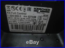 Kärcher 1.324-000.0 Nettoyeurs Haute Pression K 4 Full Contrôle Facture V03458