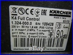 Kärcher 1.324-000.0 Nettoyeurs Haute Pression K 4 Full Contrôle Facture Y04714