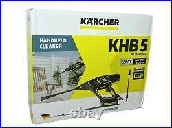 Kärcher Haute Pression Batterie Nettoyeur à Jet de Vapeur Nettoyant Surface KHB5