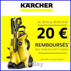 Kärcher KÄRCHER Nettoyeur haute pression K4 Full Control 18055 NEUF