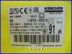 Kärcher K 2 Accueil T50 1.673-223.0 Nettoyeurs Haute Pression Négociant V00312