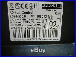 Kärcher Nettoyeur Haute Pression 5 Full Contrôle 1.324-500.0 Facture Y04458