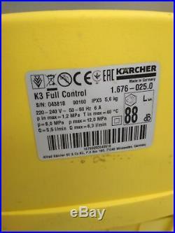 Kärcher Nettoyeurs Haute Pression K 3 Full Contrôle Accueil 1.676-025.0, Facture