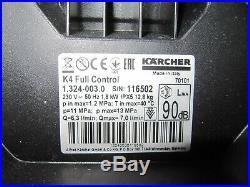 Kärcher Nettoyeurs Haute Pression K 4 Full Contrôle Maison 1.324-003.0