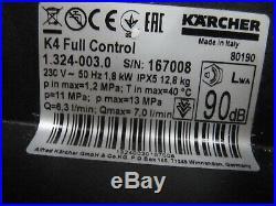Kärcher Nettoyeurs Haute Pression K 4 Full Contrôle Maison 1.324-003.0 Négociant