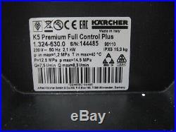 Kärcher Nettoyeurs Haute Pression K 5 Full Contrôle 1.324-630.0 Facture V05288