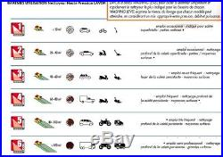 Lavor Nettoyeur haute pression 140 Bars 1900W 450L/h + brosse rotative GALAX
