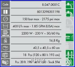 Lavor Nettoyeur haute pression 150 Bars 2200W 400L/h VERTIGO 22