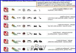 Lavor Nettoyeur haute pression 180 Bars 2500W 510L/h avec 2 brosses + nettoyeu
