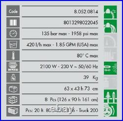 Lavor Nettoyeur haute pression Eau chaude 2100W 135 Bars 420L/h XTR 1007
