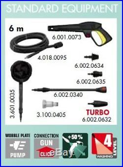Lavor Nettoyeur haute pression Eau froide 1900 W 135 bar Wave HR 135