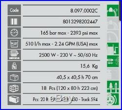 Lavor Nettoyeur haute pression Pro 165 Bars 2500W 510L/h + Enrouleur PRIME 1