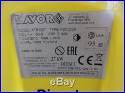 Lavor Xtr 1007 Nettoyeurs Haute Pression (8.052.0814) Facture Y02964