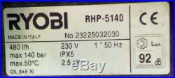 NETTOYEUR HAUTE-PRESSION RYOBI Type RHP 5140 Entièrement Rénové