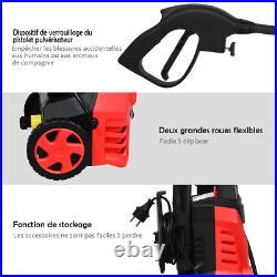 Nettoyeur Haute Pression 1400W 140Bar 300L/H Avec 1 Buse Lotus Et 1 Buse Haute