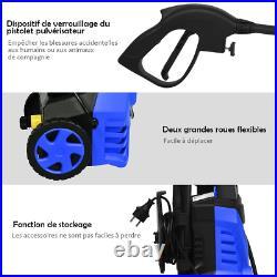 Nettoyeur Haute Pression 1400W 140R 300L/H Avec 1 Buse Lotus Et 1 Buse Haute Pr