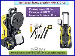 Nettoyeur Haute Pression 170 Bars PHD A1 Idéal pour Façades Véhicules 2400W Neuf