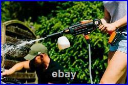 Nettoyeur Haute-Pression 22Bar 20V sans Fil Batterie Li-ION 2.5Ah Accessoires