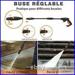 Nettoyeur Haute Pression 6 en 1 Nettoyeur Électrique 135 Bar Débit Max 300 L/H