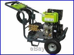 Nettoyeur Haute Pression Diesel Nettoyeur Thermique 3000 Psi 205 Bar + Dem. Elec