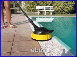 Nettoyeur Haute Pression Eau Froide avec Enrouleur et Brosses Lave-Sol