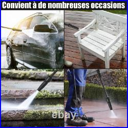 Nettoyeur Haute Pression Electrique Avec Accessoires Brosses 2030 Psi, 6,0 L /