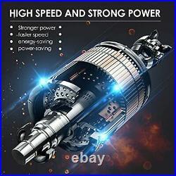 Nettoyeur Haute Pression Électrique sans Fil Portable Buse 6en1 Multifonction FR
