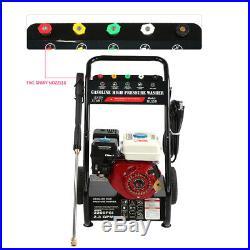 Nettoyeur Haute Pression Machine à Laver à Essence -6,5 Chevaux-vapeur / 180 Bar