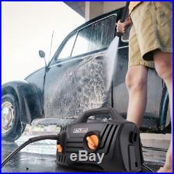 Nettoyeur Haute Pression, Moteur en cuivre Portable à 1400W Puissant
