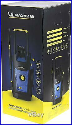 Nettoyeur Haute Pression Puissant À Roulettes 2200 W 160 Bar 460 L/H Michelin FR