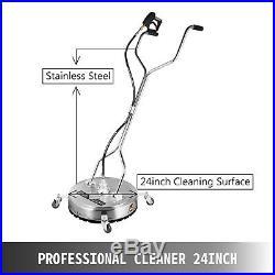 Nettoyeur Haute Pression Thermique très Puissant 275 Bars à Roulettes 60cm