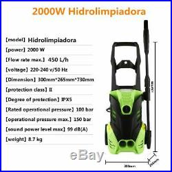Nettoyeur Haute Pression de 150Bars 450H/L, 2000W