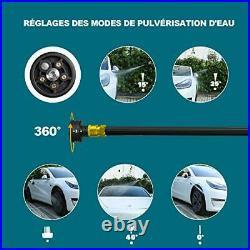 Nettoyeur Haute Pression sans Fil, WESCO 18V 2.0Ah Li-ion Batterie Pistolet