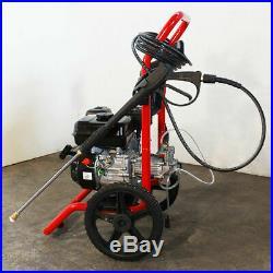 Nettoyeur à haute pression GIEMME WS 3000 P à moteur PEGGAS