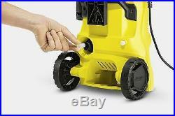 Nettoyeur haute pression 1400 W, 110 bars, 360 l/h Noir/jaune Full Control Kärcher