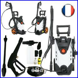 Nettoyeur haute pression 150 bar 2000 Watt Pompe en aluminium + accessoires IN