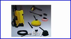 Nettoyeur haute pression Lavor 150 bar + brosse terrasse +accessoires