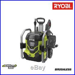 Nettoyeur haute pression RYOBI 36V LithiumPlus moteur sans charbon RPW36120HI