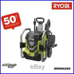 Nettoyeur haute pression RYOBI 36 V LithiumPlus moteur sans charbon RPW36120HI